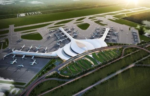 Construction des routes menant a l'aeroport de Long Thanh hinh anh 1