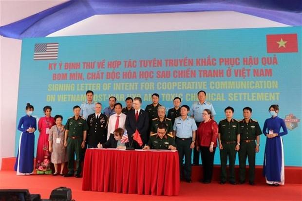 Poursuite de la cooperation Vietnam-Etats-Unis dans le traitement de la dioxine hinh anh 1