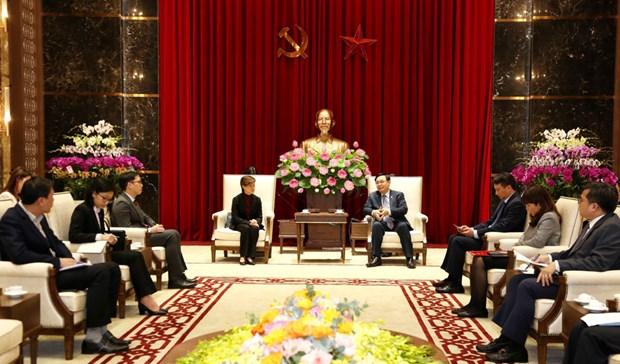 Hanoi souhaite promouvoir la cooperation economique et commerciale avec Singapour hinh anh 1