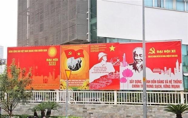 Le president du KPRF souhaite le succes au XIIIe Congres national du PCV hinh anh 1