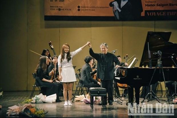 A l'Opera de Hanoi, le classique se mobilise pour la musique et la bonne cause hinh anh 1