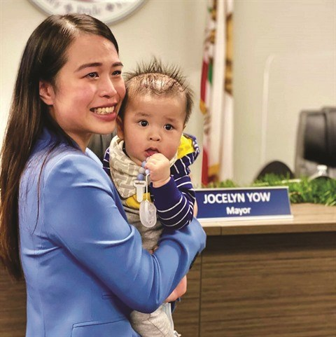 Jocelyn Yow, la plus jeune maire de couleur de la Californie hinh anh 1