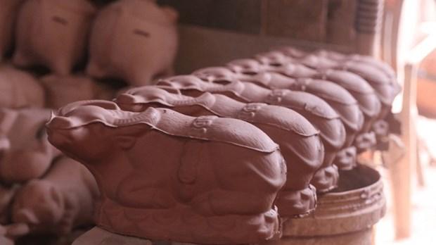 Nouvel An : des buffles en ceramique pour tous les gouts hinh anh 2