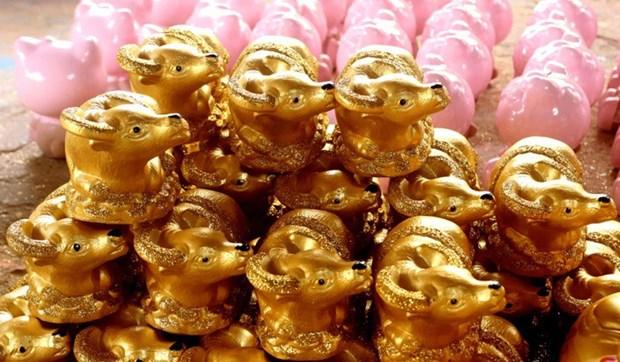 Nouvel An : des buffles en ceramique pour tous les gouts hinh anh 4