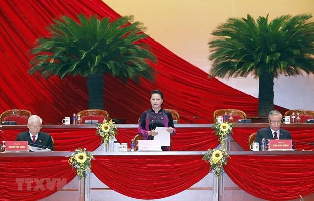 Communique de presse sur la reunion preparatoire du 13e Congres national du Parti hinh anh 1