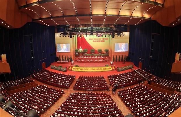 Congres national du Parti : des solutions pour developper le pays dans le nouveau contexte hinh anh 1