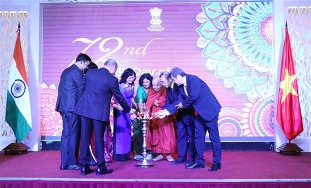 Renforcement de la cooperation entre Ho Chi Minh-Ville et l'Inde hinh anh 4
