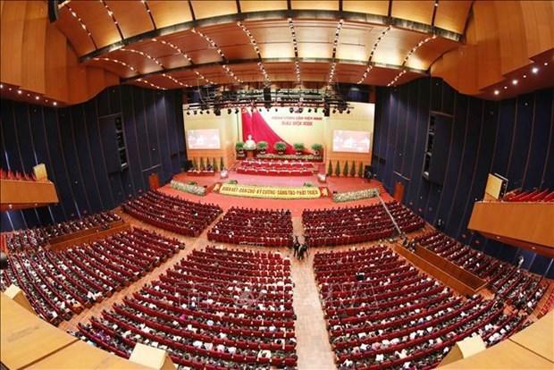 Le XIIIe Congres du Parti vote le nombre de membres du Comite central hinh anh 1