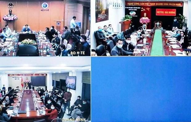 COVID-19 : deux cas de transmission intracommunautaire detectes a Hai Duong et Quang Ninh hinh anh 1