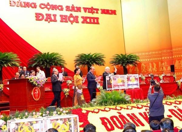 XIIIe Congres du Parti : Communique de presse sur la 5e journee de travail hinh anh 1