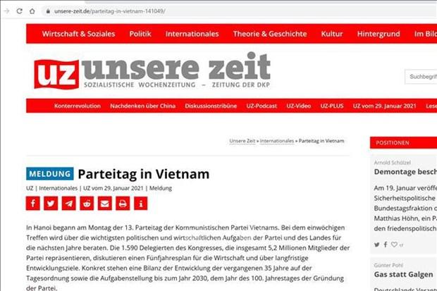 Le 13e Congres du Parti decide des taches les plus importantes du Vietnam hinh anh 1