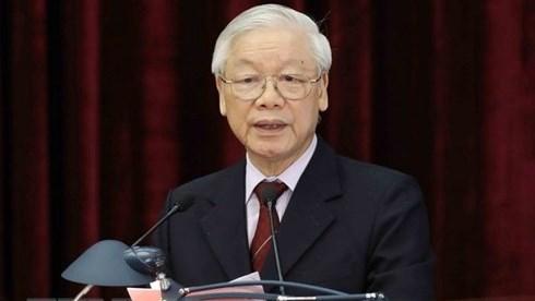 Breve biographie du secretaire general du Parti Nguyen Phu Trong hinh anh 1