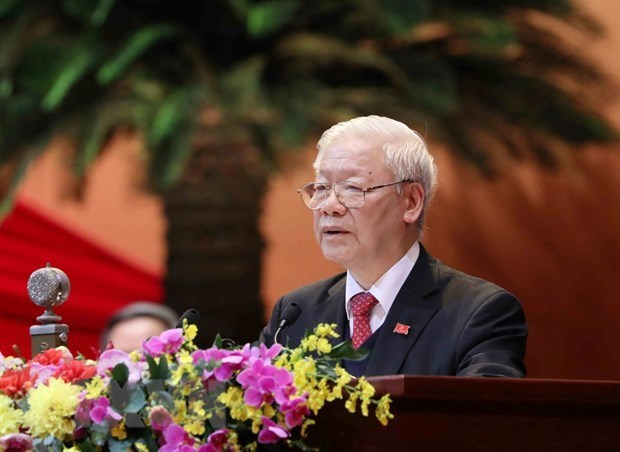 Le leader Nguyen Phu Trong s'engage a accomplir les taches assignees hinh anh 1