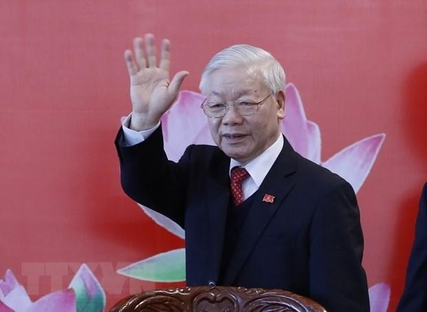 Messages de felicitations des dirigeants du monde a Nguyen Phu Trong hinh anh 1