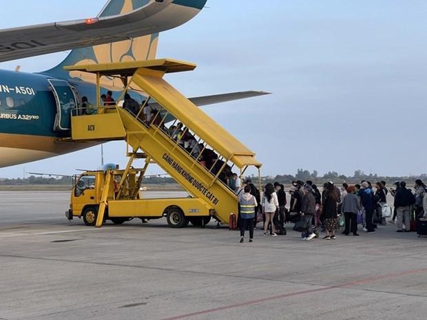 Vietnam Airlines va renforcer la prevention du COVID-19 pendant le Tet hinh anh 1