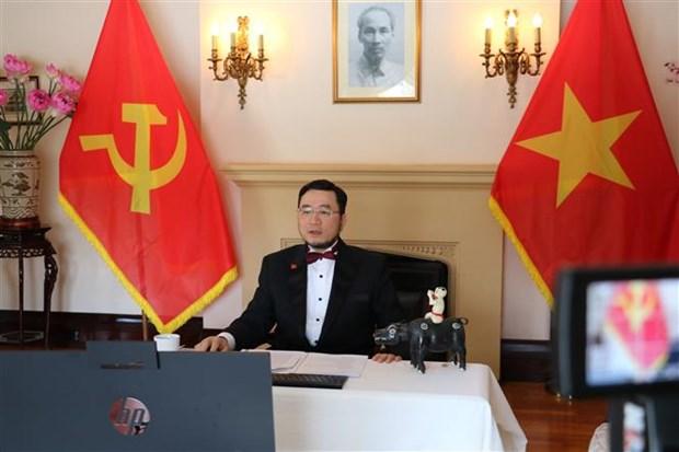 Los canadienses saludan al liderazgo del PCV en las victorias de Vietnam Hainh Anh 1