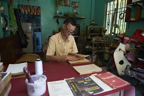 Vo Van Rang, le dernier relieur de livres anciens a Ho Chi Minh-Ville hinh anh 1