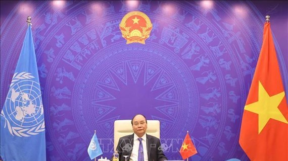 Le PM Nguyen Xuan Phuc au debat ouvert sur le climat du Conseil de securite de l'ONU hinh anh 1