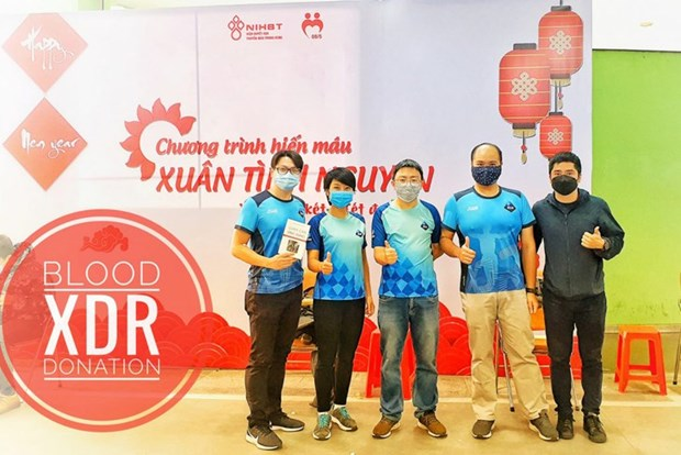 """""""Run for Blood"""": une course humanitaire hinh anh 1"""