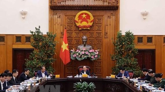 La permanence du gouvernement discute des modeles d'administration urbaine a HCM-Ville et Da Nang hinh anh 1
