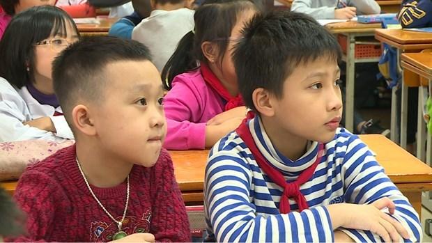 L'enseignement a titre d'essai du coreen et de l'allemand dans des ecoles hinh anh 1