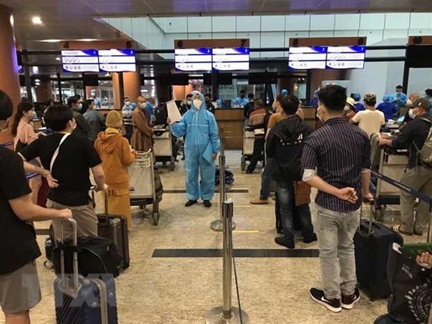 COVID-19 : Rapatriement de plus de 390 citoyens vietnamiens du Myanmar hinh anh 1