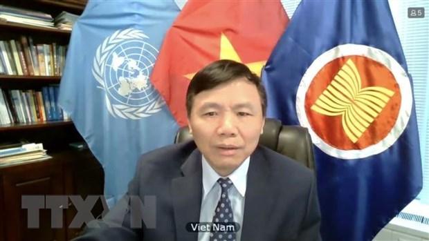 Le Vietnam a exhorte le Myanmar a œuvrer pour une solution satisfaisante hinh anh 1