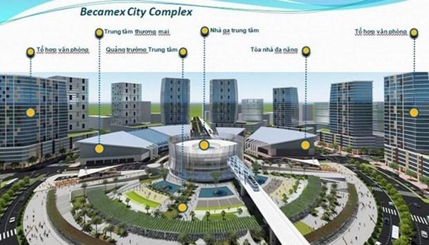 Accord avec des partenaires sud-coreens sur le plus grand centre commercial du Vietnam hinh anh 1