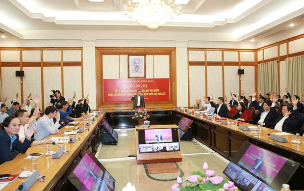 Elections legislatives : le Bureau du CC du Parti presente cinq candidats hinh anh 1