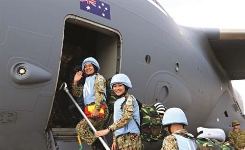 Les Vietnamiennes au cœur des operations de paix de l'ONU hinh anh 2