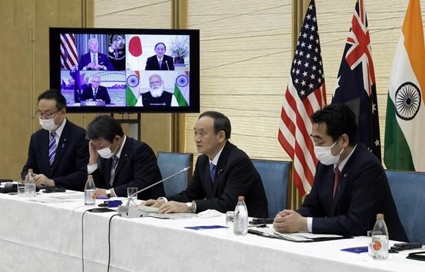 Le PM japonais veut renforcer les liens entre le Quad et l'ASEAN hinh anh 1