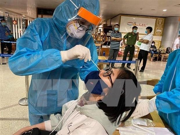 COVID-19 : un nouveau cas importe detecte a Ba Ria-Vung Tau hinh anh 1
