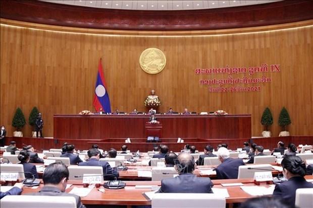Messages de felicitations aux dirigeants laotiens hinh anh 1