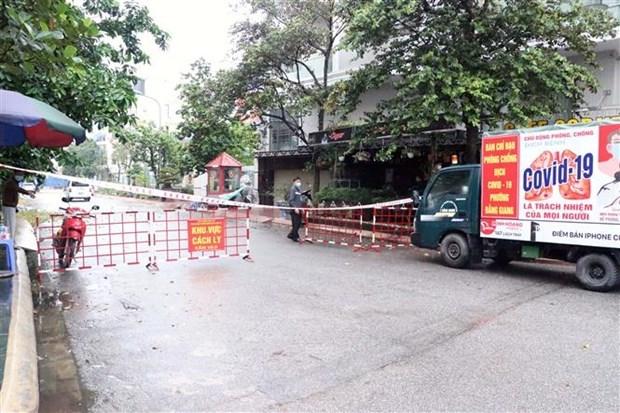 COVID-19 : le Vietnam denombre cinq nouveaux cas hinh anh 1