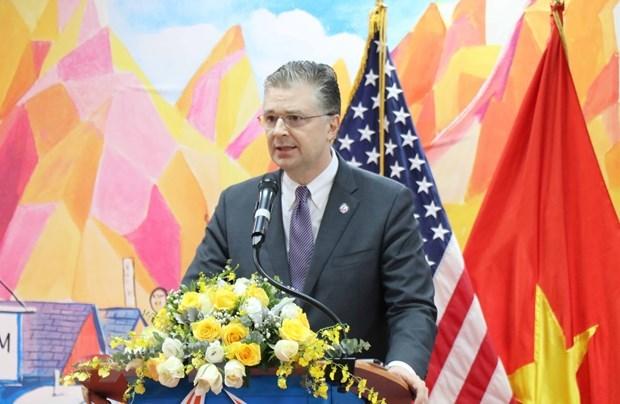 Biden compte nommer l'ambassadeur au VN au poste de secretaire d'Etat adjoint pour l'Asie de l'Est hinh anh 1