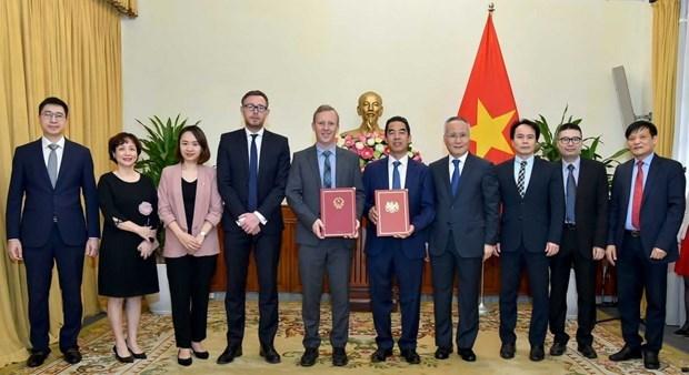 L'ALE Vietnam-Royaume-Uni entrera en vigueur le 1er mai 2021 hinh anh 1