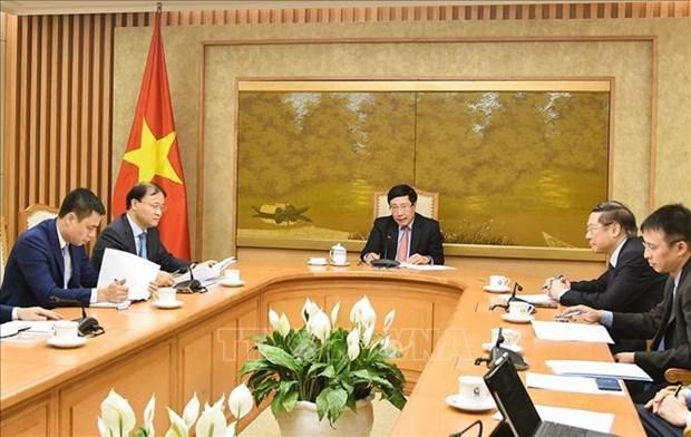 Le Vietnam renforce sa cooperation avec les Etats-Unis face au changement climatique hinh anh 1