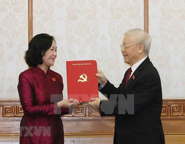 Nouvelles cheffes de Commissions centrales du Parti hinh anh 1
