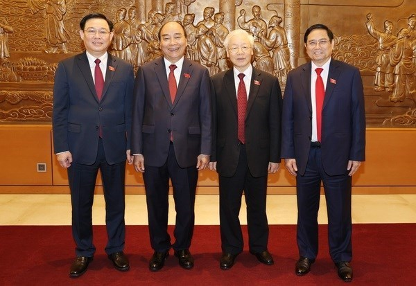Les felicitations continuent d'affluer aux nouveaux dirigeants du Vietnam hinh anh 1