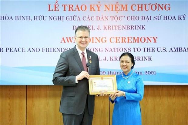 L'ambassadeur des Etats-Unis au Vietnam a l'honneur hinh anh 1