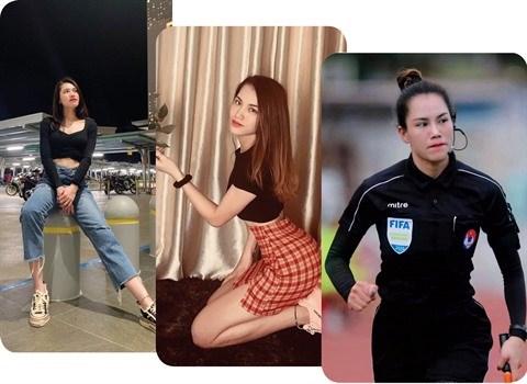 Les femmes arbitres se font une place dans le football masculin au Vietnam hinh anh 1