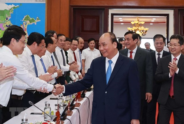 Le president Nguyen Xuan Phuc se rend a Da Nang hinh anh 4