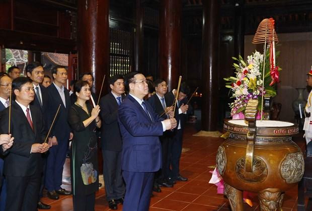 Le president de l'Assemblee nationale en visite de travail a Nghe An hinh anh 3