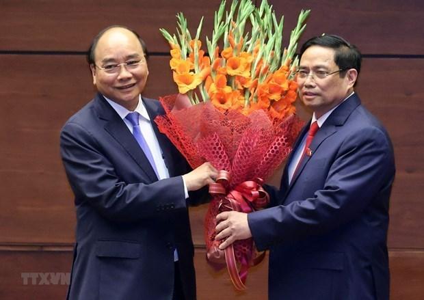 Felicitations de dirigeants etrangers a de nouveaux dirigeants vietnamiens hinh anh 1