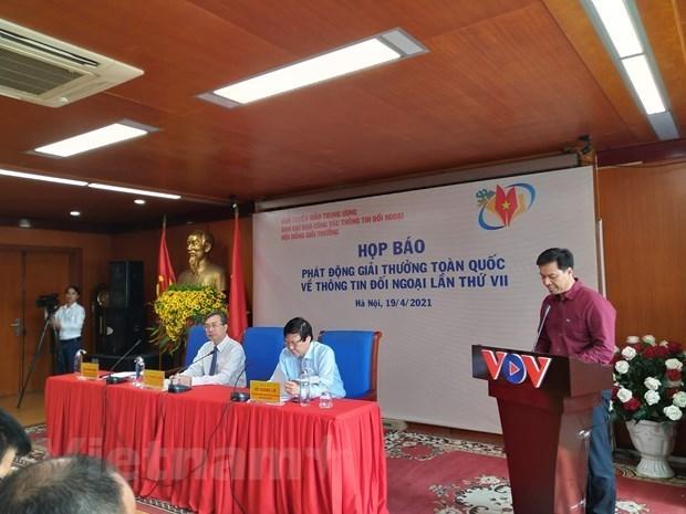 Lancement du 7e edition du Prix de l'information pour l'etranger hinh anh 1