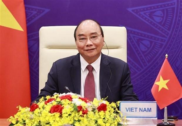 Le president vietnamien assiste a la ceremonie d'ouverture du Sommet international sur le climat hinh anh 1