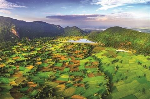 Le lac Ta Pa, nouvelle attraction touristique de An Giang hinh anh 2