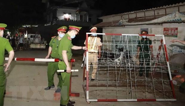 La police de Vinh Phuc et Ho Chi Minh-Ville traitent les entrees illegales hinh anh 2