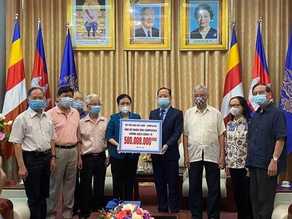Aide vietnamienne au Cambodge pour lutter contre le COVID-19 hinh anh 1
