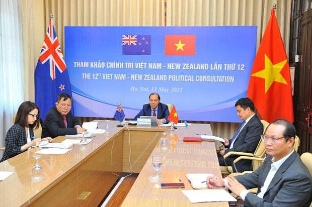 Consultation politique entre le Vietnam et la Nouvelle-Zelande hinh anh 2